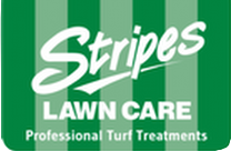 Stripes Lawn Care Logo